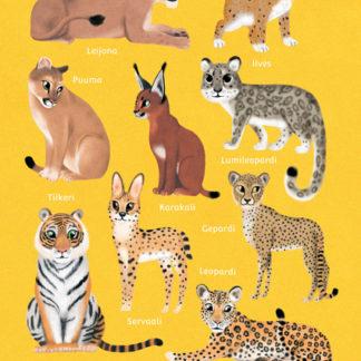 kissaeläimiä_juliste